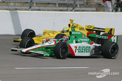 Tony Kanaan and Tomas Scheckter
