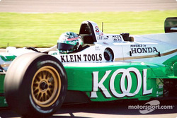 Paul Tracy was nipping at the heels of the leaders all afternoon but was never able to push to the top.