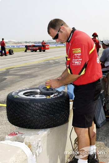 Preparation at Ganassi Racing