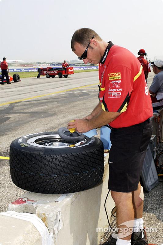 Preparation at Ganassi Racing