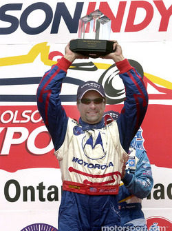 Race winner Michael Andretti