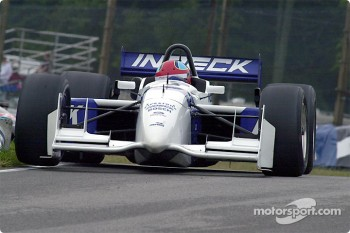 Bryan Herta gets a wheel up