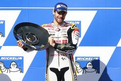 Podium: race winner Cal Crutchlow, Team LCR Honda