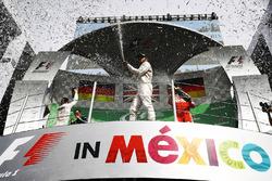 Podium: 1. Lewis Hamilton, Mercedes AMG F1; 2. Nico Rosberg, Mercedes AMG F1; 3. Sebastian Vettel, Ferrari