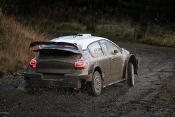 Citroën C3 WRC 2017 November testing
