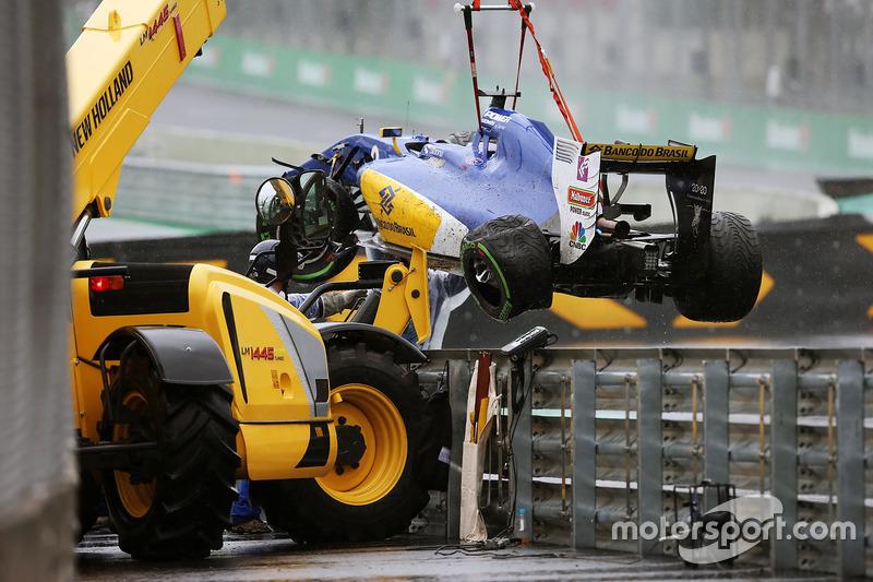 Ausfall:  Marcus Ericsson, Sauber F1 Team C35