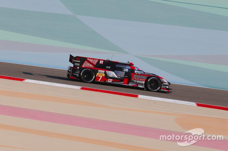 4. LMP1: #7 Audi Sport Team Joest, Audi R18: Marcel Fässler, Andre Lotterer, Benoit Tréluyer