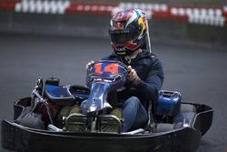 Max Verstappen karting session