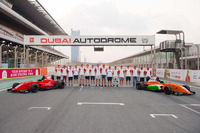Indian Open Wheel 图片 - Drivers group photo