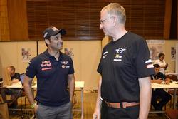Nasser Al-Attiyah, Toyota Gazoo Racing, Sven Quandt, managing director X-Raid Team