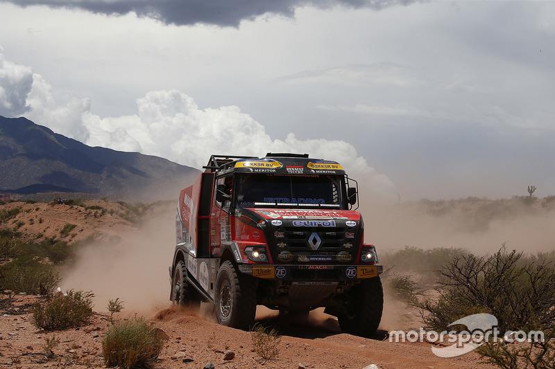 #506 Mammoet Rallysport: Мартін ван ден Брінк, Даніель Козловскі, Марсель Бланкестайн