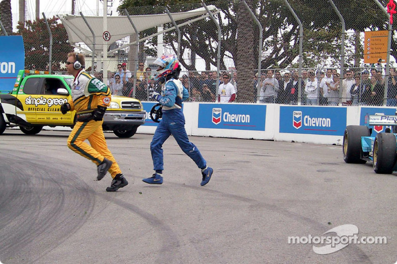 Alex Tagliani out of the race
