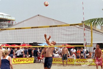 Beach volley at Exhibition Place