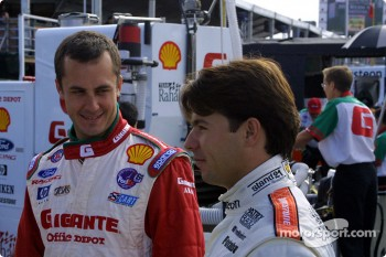 Michel Jourdain Jr. and Oriol Servia