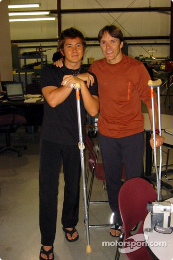 Shinji Nakano and Adrian Fernandez