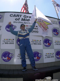 Pole winner Patrick Carpentier