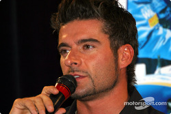 Team Player's press conference on Tuesday: Alex Tagliani
