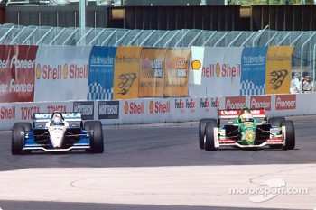 Michael Andretti and Mario Dominguez