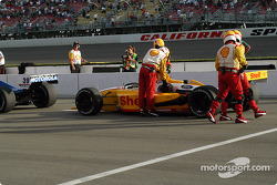 Race stopped: Jimmy Vasser