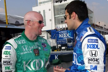 Paul Tracy and Dario Franchitti