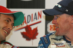 Press conference: Michel Jourdain Jr. and Paul Tracy