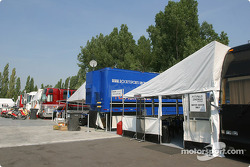 Teams hospitality area