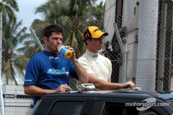 Drivers presentation: Patrick Carpentier and Alex Sperafico