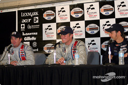 Press conference: Ryan Hunter-Reay with Darren Manning and Jimmy Vasser