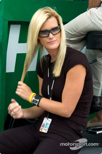 Ryan Hunter-Reay's girlfriend