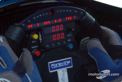 Paul Tracy's cockpit