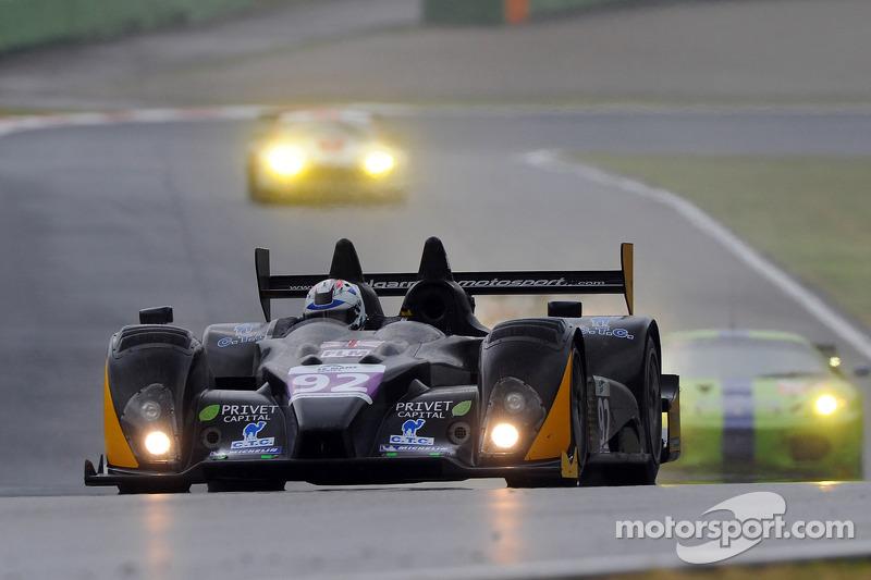 #92 Neil Garner Motorsport FLM Oreca-09: Luca Moro, Zhang Shanqi, Tor Graves