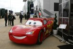 Virgin F1 Team has a partnership with Disney to promote the movie Cars 2