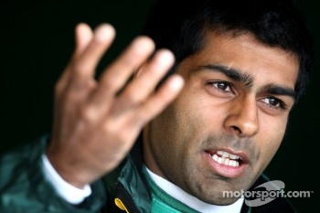 Karun Chanhok replaces Jarno Trulli for the German GP