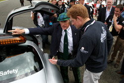 Sir Jackie Stewart and Prince Harry