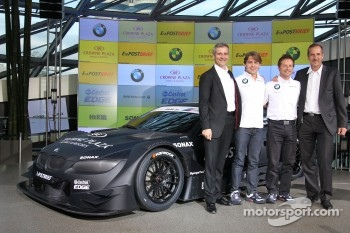 BMW presents the DTM Concept Car with Augusto Farfus Jr. and Andy Priaulx