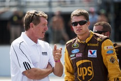 David Ragan, Roush Fenway Racing Ford and Bill Elliot