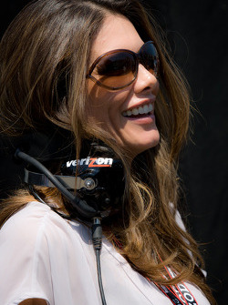 Adriana Henao, wife of Helio Castroneves, Team Penske