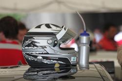 Helmet of Gary Paffett, Team HWA AMG Mercedes C-Klasse