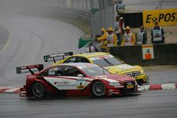 David Coulthard, Mücke Motorsport, AMG Mercedes C-Klasse, Oliver Jarvis, Audi Sport Team Abt Sportsline Audi A4 DTM