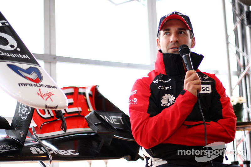 Timo Glock, Marussia Virgin Racing extends his contract with Virgin Racing