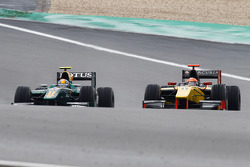 Esteban Gutierrez and Romain Grosjean