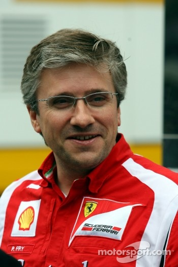 Pat Fry Ferrari technical director
