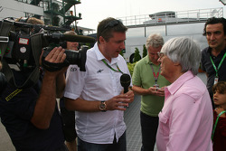 Bernie Ecclestone with the BBC