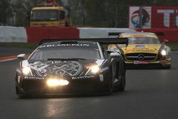 #24 Blancpain-Reiter Lamborghini LP600: Marc A. Hayek, Peter Kox, Jos Menten