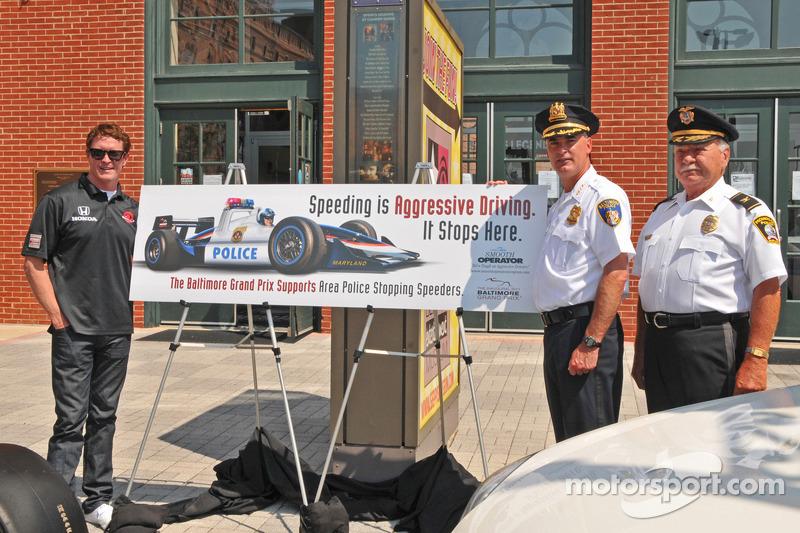 Scott Dixon participates in Maryland's
