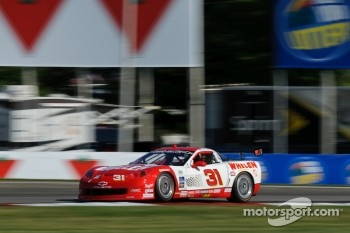 #31 Marsh Racing Corvette: Boris Said, Joey Logano