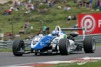 second place Marco Wittmann, Signature, Dallara F308 Volkswagen
