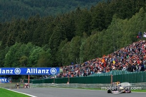 Race action at Spa-Francorchamps