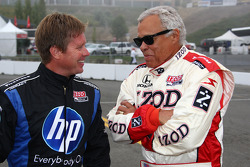 INDYCAR: Davey Hamilton and Don Prudhomme