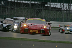 #61 AF Corse Ferrari F430: Piergiuseppe Perazzini, Marco Cioci, Stéphane Lemeret